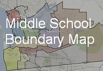 Middle School Boundary Map